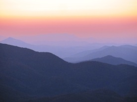 Sunset Shades at Max Patch