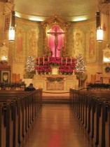 Praying in the Basilica