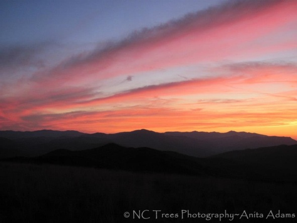 Sunset Max Patch - October 2011